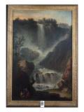 The Falls of Terni Gicl&#233;e-Druck von Claude-Joseph Vernet