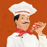 Pizza Al Trancio Prints by  Andretti