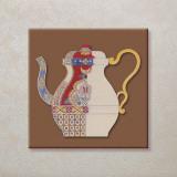 Vintage Tea-Pots Poster by E. Kruger