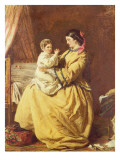 Evening Prayer Giclee Print by William Powell Frith