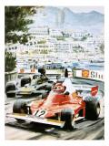 Niki Lauda Giclee Print by Graham Coton