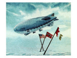 The Norge Airship Giclee Print by  English School