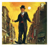 Charlie Chaplin Giclee Print by English School