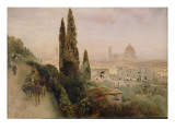 Florence Giclee Print by Oswald Achenbach
