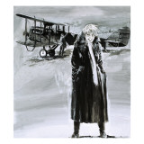 Amelia Earhart Giclee Print by Graham Coton