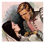 Romeo and Juliet Giclee Print by English School