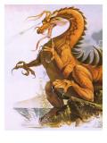 Dragon Giclee Print by  English School