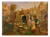 Market Day Giclee Print by Henry Charles Bryant