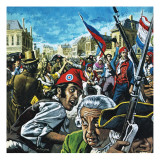 French Revolution Giclee Print by Payne