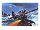 Hawker Hurricane Giclee Print by Wilf Hardy