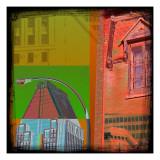 Mondrian Pop Montreal Posters by Jean-François Dupuis