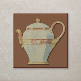 Vintage Tea-Pots Prints by E. Kruger