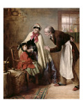 First Tooth, 1866 Giclee Print by Edward Hughes