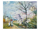 Spring Blossom Giclee Print by Henri Richet