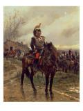 The Hussars Giclee Print by Alphonse Marie de Neuville