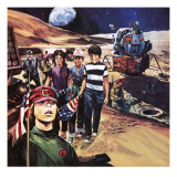 Journey into Space Giclee Print by Gerry Wood
