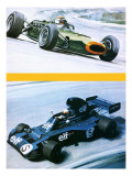 Jackie Stewart Giclee Print by Graham Coton