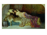 Sleeping Beauty Giclee Print by William A. Breakspeare