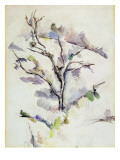 The Oak Giclee Print by Paul Cézanne