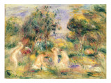 The Bathers Giclee Print by Pierre-Auguste Renoir