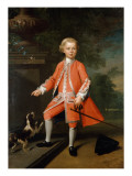 Portrait of a Boy Giclee Print by Willem Verelst