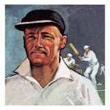 Sir Donald Bradman Giclee Print by English School