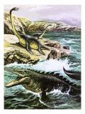 Plesiosaurus Lámina giclée por  Payne