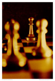Sepia Chess III Prints by Jean-François Dupuis