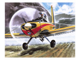 Cessna Agwagon Giclee Print by Wilf Hardy