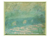 Waterloo Bridge Giclee Print by Claude Monet
