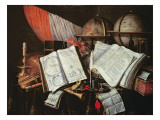 Vanitas Premium Giclee Print by Edwaert Collier