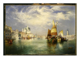 Venice Giclee Print by  Moran