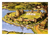 Pembroke Castle Giclee Print by  Green