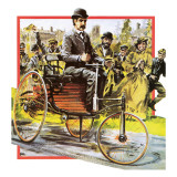 Early Car Giclee Print by English School