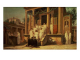 The Vestal Virgins Giclee Print by Louis Hector Leroux