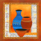Ethnis Pottery Prints by Walter Kano