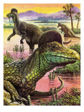Corythosaurus Giclee Print by Payne 