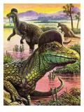 Corythosaurus Giclee Print by  Payne