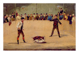 Dog Fighting Giclee Print by Samuel Henry Alken