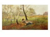Resting Giclee Print by Benjamin D. Sigmund