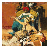 Scheherazade Giclee Print by English School