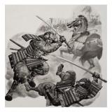 Samurai Giclee Print by Pat Nicolle