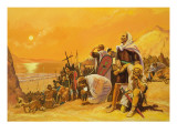 The Crusades Giclee Print by Gerry Embleton