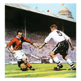 Stanley Matthews Giclee Print by English School