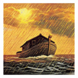 Noah's Ark Giclee Print by  English School