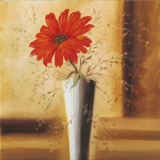 Still Life in Red I Print by  Andretti