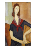 Jeanne Hebuterne Giclee Print by Modigliani 