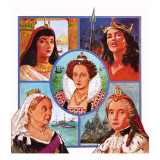 Women Who Ruled Giclee Print by Clive Uptton