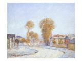 First Frost, 1876 Giclee Print by Alfred Sisley