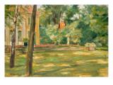 Garden Scene Giclee Print by Max Liebermann